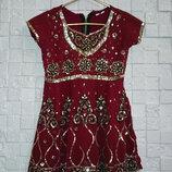 Платье для девочки ручной работы