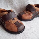 Туфли ботинки Кожа Umi, стелька 12,5 см.