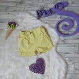 Шорты Baby club C&A на девочку желтые