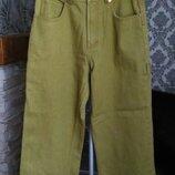 Vecta jeans vecta sport новые фирменные джинсы цвет горчица