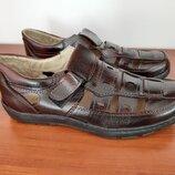 Туфли мужские летние бордовые прошитые - туфлі чоловічі літні бордові