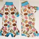 Пижама для кошек Пончики