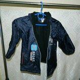 Куртка детская демисезонная на мальчика 4-5 лет