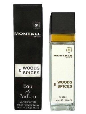 Мини-Парфюм Montale Wood and Spices 40 мл - Унисекс