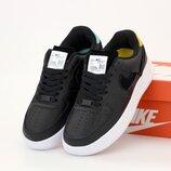 Женские кроссовки Nike Air Force. Black White