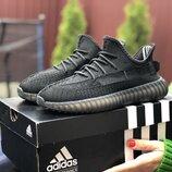 Кроссовки женские Adidas x Yeezy Boost, черные