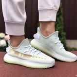 Кроссовки женские Adidas x Yeezy Boost, ментоловые