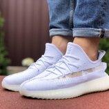 Кроссовки мужские Adidas x Yeezy Boost, белые