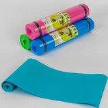 Коврик для йоги С 36548 толщина 5 мм, 178х59х0,5 см