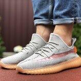Кроссовки мужские Adidas x Yeezy Boost, серый