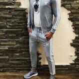Спортивный костюм Adidas Petal gray
