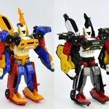 Тобот робот Тритан, трансформер 3 машинки в 1 роботе