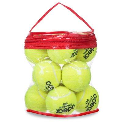 Мяч для большого тенниса Odear Silver 1780 12 мячей в сумке