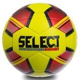 Мяч футзальный 4 Select Classic 0555 PVC, желто-красный