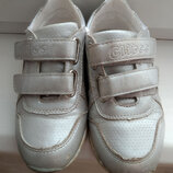 Кросовки серебро светлые Clibee на девочку 28 размер