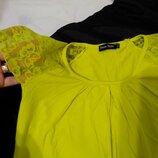 Футболка лимонного цвета, жёлтого , М