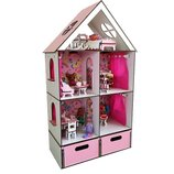 Кукольный домик для лол, мебель, текстиль. Развивающие игрушки. Эко игрушки.