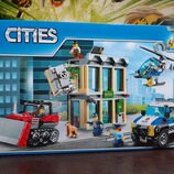 Конструктор Bela Cities Сити City Ограбление на бульдозере