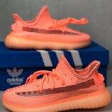 Adidas Yeezy Boost 350 v2 Оранжеві женские