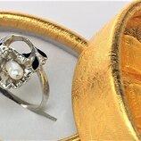 Кольцо перстень серебро Ссср 800 проба 3,14 грамма 19 размер