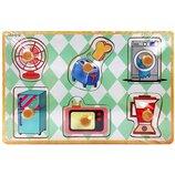 Деревянная игрушка Рамка-Вкладыш MD 2384-01 Бытовая техника