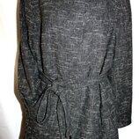 Жакет блейзер тренч тонкая шерсть с поясом от Marina Rinaldi скидка MR25 56-58