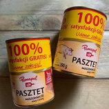 Pamapol Pasztet Mazowiecki свиной паштет, 390 гр., Польша