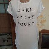 Фирменная футболка туника