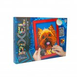 Мягкая мозаика Pixel , Собачка Dankotoys РМ-01-03 Йоркшир тетрис мозайка