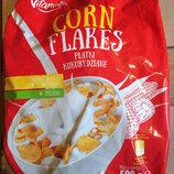 Кукурузные хлопья Classic Corn Flakes Villanela 500г, Польша