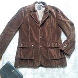 Пиджак, жакет мужской. стильный, велюровый, тм polo jeans. р. 50-52-54