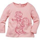 Розовый лонгслив, реглан на девочек, ледниковый период, ice age, baby collection
