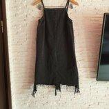 Джинсовое платье сарафан River Island