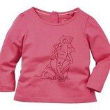Розовый лонгслив, реглан на девочек р. 86/92, ледниковый период, ice age, baby collection