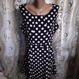Симпатичное платье в горох Marks & Spencer