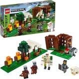 Конструктор Лего майнкрафт Аванпост разбойников 21159 LEGO Minecraft