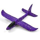 Метательный планер Пенолет 48 см фиолетовый