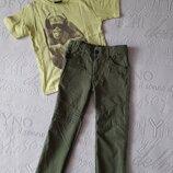 Легкие, летние брюки, штаны на 4-6 лет