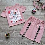 Мега модный костюм для девочки