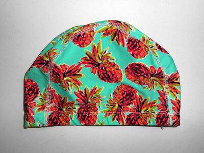 Тканевая шапочка для плавания