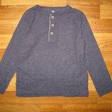 базовый сине-серый реглан M&S на 4-5 лет