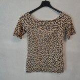 Леопардовая футболка, 42-44р