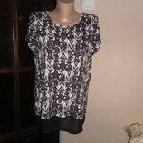 Блуза женская летняя,размер евро 10 44-46размер от m&co