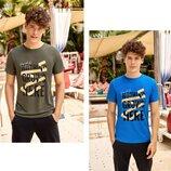Мужская футболка молодежная 4078
