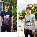 Мужские футболки турецкие 4075