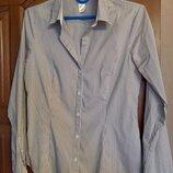 Отличная рубашка в полоску H&M, р-р 38
