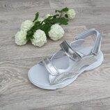 Босоножки кожаные сандалии для девочки 32--40рр