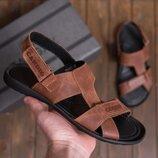 Мужские кожаные сандалии 320р Card