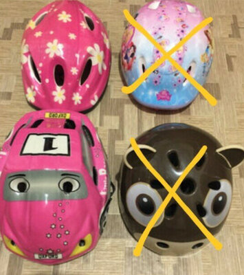 Детские шлемы защитные