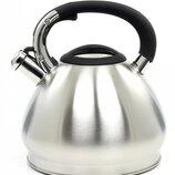Чайник семейный вместительный со свистком MAESTRO на 4,3 л.
